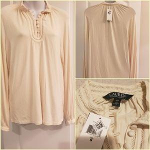 Ralph Lauren Cream blouse